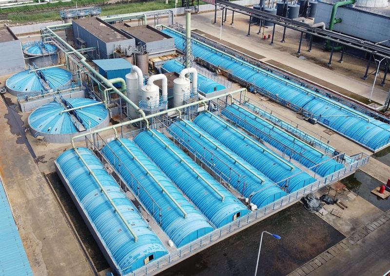 金岭化学有限公司污水处理工程